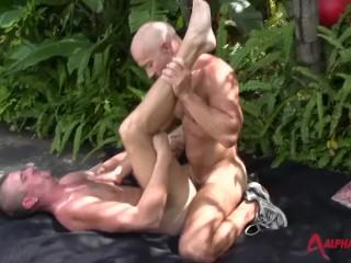 Black double vaginal penetration