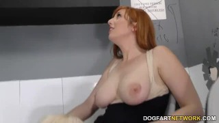 Lauren Phillips and Sara St. Clair Tries Anal - Gloryhole  big black cock ass fuck big tits redhead blowjob gloryhole pornstar fetish hardcore interracial dogfartnetwork 3some threesome anal big boobs glory hole