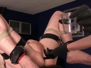 Gorgeous Mistress Milks Slave's Prostate