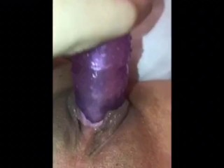 Creamy pussy squirts amazingly beautiful wife records her self for husband beautiful pussy w