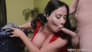 Step Mom Needs Some Spring Dick - Brazzers Spanking on