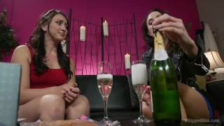 Lesbian Femme Seduces Straight Girl Young old