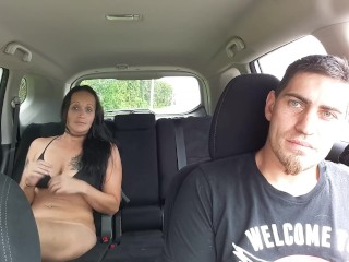 Young Brown Pussy Fucking In Public (Roadside Sex - Ft. Lauderdale I-95), Amateur Big Tits