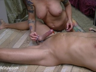 Long slow amateur blow job