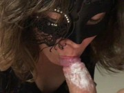 Userrequest - Wife sucking the cheese from husbands cock