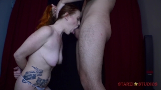 Starzi's facefuck lila sloppy hard boobs bouncing
