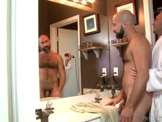 MenOver30 Hairy Daddy Pleases his Boyfriend