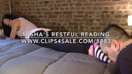 Misha's Restful Reading - www.c4s.com/8983/17862764