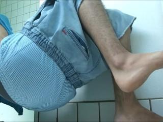 Shower Sagging - SexySaggerYo