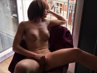 Masturbation Windows Open