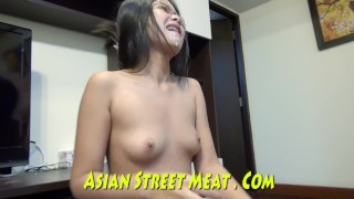 Moaning Bangkok Ass Fucker With Glasses