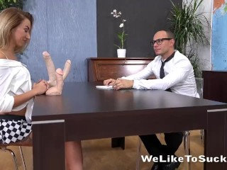 Katrin Tequila cant get enough of this big cock