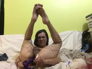 Trap alhena adam pornhub exclusive double dildo anal fuck