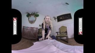 VR Fucking With Schoolgirl Misha Cross on VRCosplayX.com Cock style