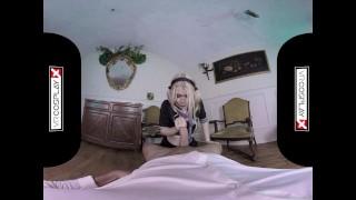 VR Fucking With Schoolgirl Misha Cross on VRCosplayX.com Hardcore cumshot