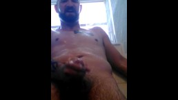 #28 jerking in shower again