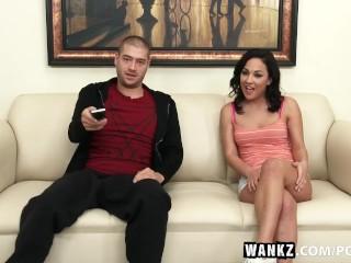 WANKZ- Amara Romani Accidental Creampie