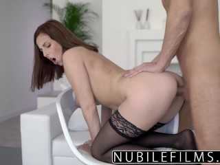 NubileFilms – Big Tit Step Sis Wants My Cock