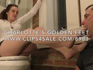 Charlotte's Golden Feet - www.c4s.com/8983/17862790