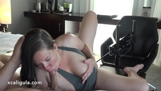 Fucked by the FuckMachine While Sucking His Cock - 4K  best cock sucking fake threesome real orgasm big tits cum swallow kink black hair blue eyes real couple sex fuckmachine orgasm azzurra kinky sex fuckmachine cum in mouth xcaligula passionate sex pussy close up