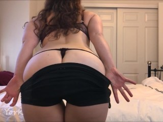 Preview of Strip tease and playing with my asshole