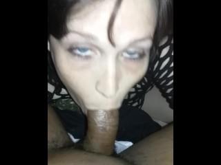 First time sucking a BBC