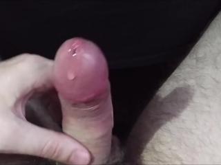 JeromeKox Jerking Off POV Close Up with Precum, Edging, and a Nice Cumshot!