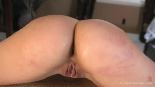 Sexual Objectification  big ass nipple clamps high heels pain slave submission gag leather fetish big dick curvy brunette sexandsubmission bondage abella danger ball gag pain slut
