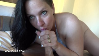 Black Hair Blue Eyes Wife Anal Adventure 4K - Cum Got Stuck:)