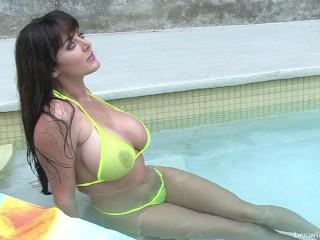 micro bikini photo shoot video