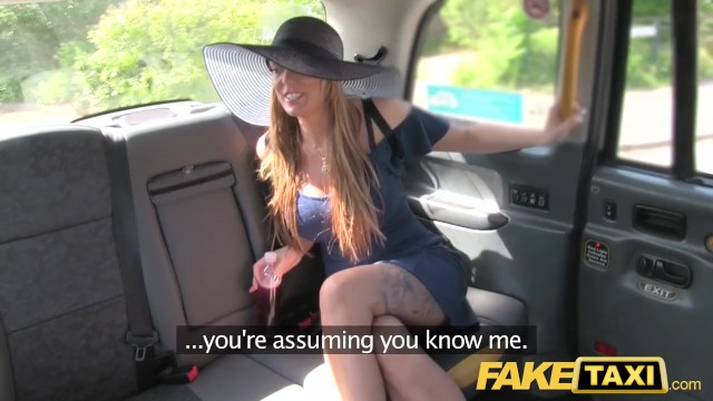 Leg long milf Fake taxi long legs tattoos and great tits