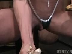 Naked Female Bodybuilder Ashlee Chambers Fucks Crushes Banana