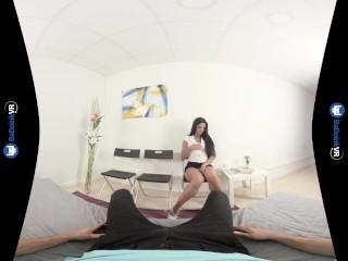 VR Porn Fucking A Sexy Girl Alexa Tomas On BaDoinkVR.com