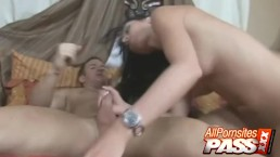 Cum Filled Mouth For Nadia Nitro