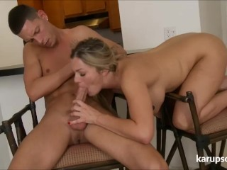 Bethany Taylor Gives Sloppy Blowjob
