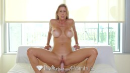 PureMature Fuck and creampie with big breasted MILF Alexis Fawx
