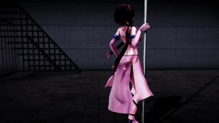 [MMD] Pole dancing at Tokiwazaki 3