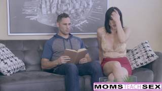 Stuck it my now in more and step wants mom tits hardcore
