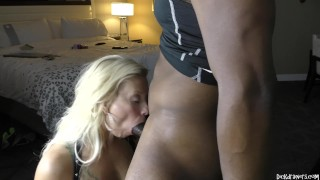 Holly Berry Worships BLACK ASS and BIG BLACK DICK!