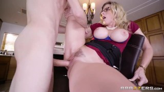 Milf Cory Chase fucks her son's friend! - Brazzers Anal of