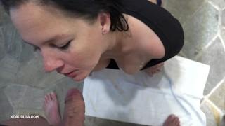 Sucking creampie amateur pov k intense passionate unedited oral high heels