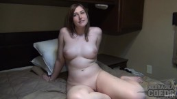Beth Getting Naked in Her Parents Motor Home RV