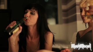 Trans Lesbian Hangover Hookup with Sasha Sweet