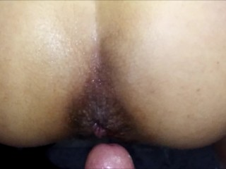 Aunty Sex Sex Sex Quick anal in bathroom with out lube. LE ENCANTA POR EL CULO. ANAL A LATINA