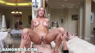 BANGBROS - Brandi Love Gets Happy Ending from MILF Brandi Love (bbc16024) Impregnate old