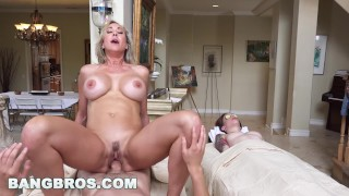 BANGBROS - Brandi Love Gets Happy Ending from MILF Brandi Love (bbc16024) Out tits