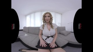 VIRTUAL TABOO - Busty Milf Playing With Her Sweet Pussy