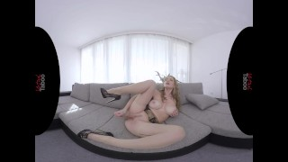VIRTUAL TABOO - Busty Milf Playing With Her Sweet Pussy porno
