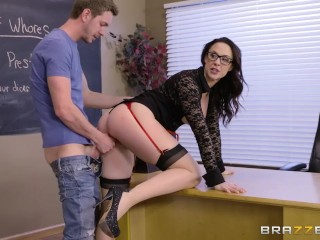 Sarah Purcell Nude Fucking, Professor Chanel Prestons hands On Whore History lesson - Brazzers Porns