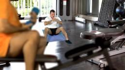 Gym Diaries Voyeur Cumshot Compilation